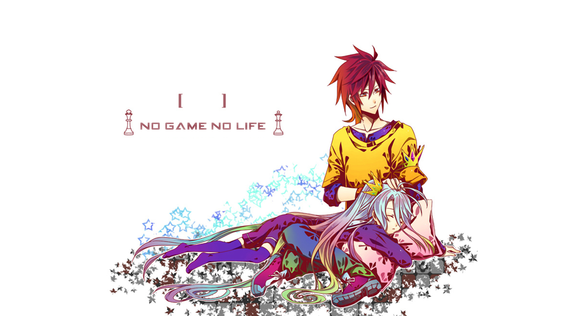 Shiro And Sora No Game No Life Anime 壁纸 38800371