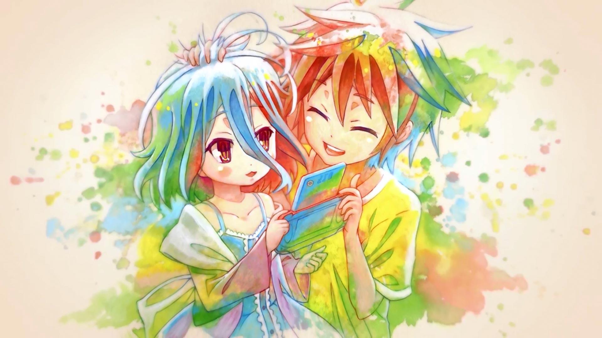 Shiro and Sora