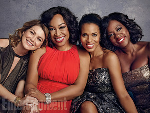 Shondaland Photoshoot for Entertainment Weekly
