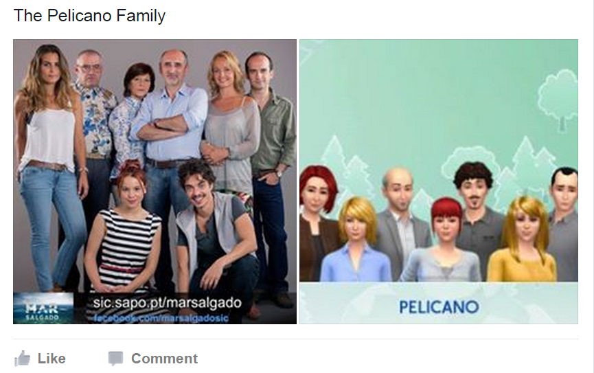 Sims 4 Family Remakes - The Sims 3 Photo (38855495) - Fanpop