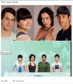 Sims 4 Family Remakes