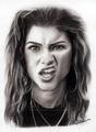 Sketch : Zend Coleman : Our Rockstar  - zendaya-coleman fan art
