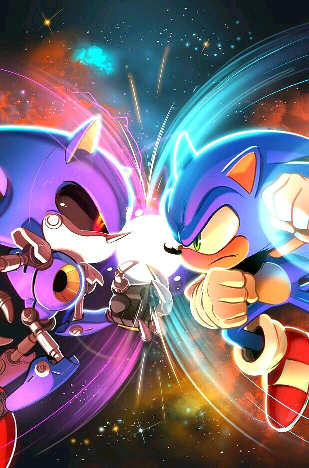 Sonic The Hedgehog Immagini Sonic Vs Metal Sonic Hd Wallpaper And