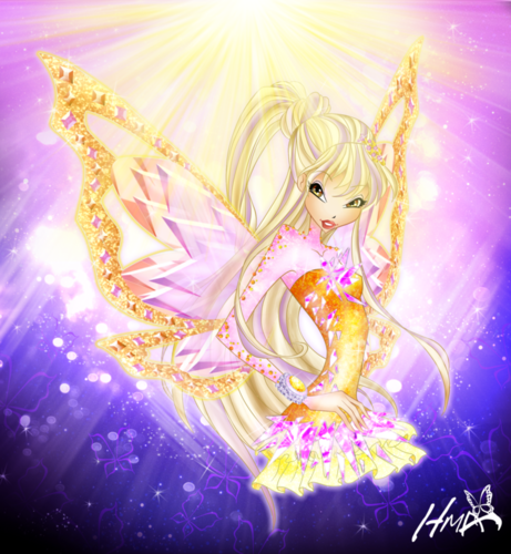 Winx Club wallpaper entitled Stella Tynix