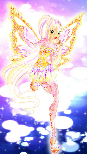 The Winx Club پیپر وال possibly containing a bouquet entitled Stella Tynix