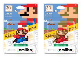 Super Mario Bros. 30th anniversary amiibos