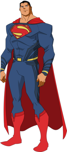 Superman wolpeyper with anime entitled Superman