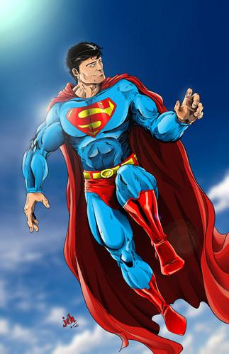 Superman kertas dinding called Superman