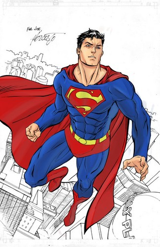 Superman Hintergrund with Anime entitled Superman