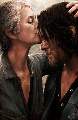 The Walking Dead Hintergrund titled TWD Art Collection