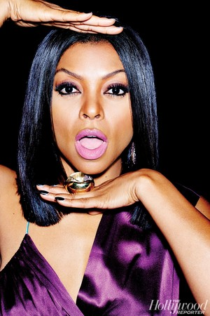 Taraji P. Henson in The Hollywood Reporter - September 2015