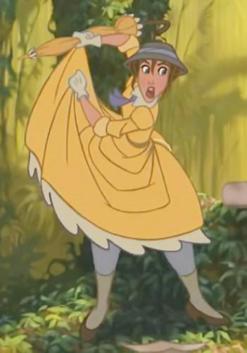 Jane Porter karatasi la kupamba ukuta containing anime entitled Tarzan 1999 BDrip 1080p ENG ITA x264 MultiSub Shiv .mkv snapshot 00.34.23 2014.08.18 20.46.03