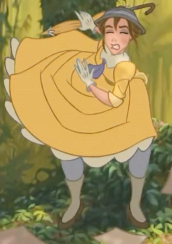 Jane Porter karatasi la kupamba ukuta with anime entitled Tarzan 1999 BDrip 1080p ENG ITA x264 MultiSub Shiv .mkv snapshot 00.34.23 2014.08.18 20.46.32