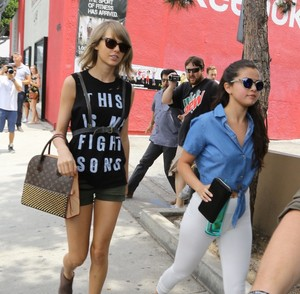 Tay & Sel at lunch