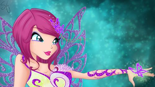 El Club Winx fondo de pantalla titled Tecna Butterflix