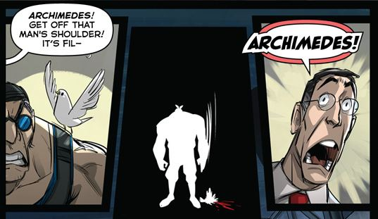 Tf2 comic issue 5 (somewhat spoilers)