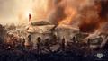 'Fallen Snow' Banner - The Hunger Games: Mockingjay Part 2