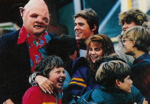 The Goonies wallpaper possibly containing a drummer called The Goonies