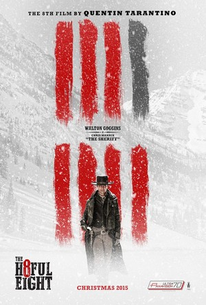 The Hateful Eight Poster - Walton Goggins as Sheriff Chris Mannix
