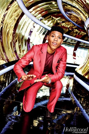 """The Hollywood Reporter - """"Empire on Fire"""" - Bryshere Gray"""