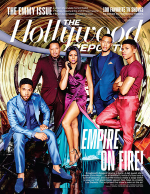 """The Hollywood Reporter - """"Empire on Fire"""" - Cover"""