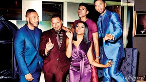 """The Hollywood Reporter - """"Empire on Fire"""" - Photoshoot"""