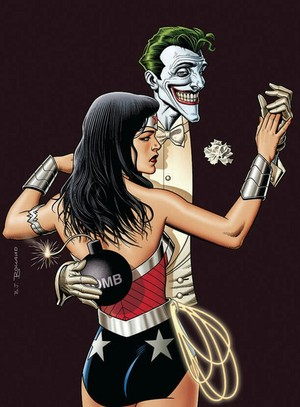 The Joker and Wonder Woman
