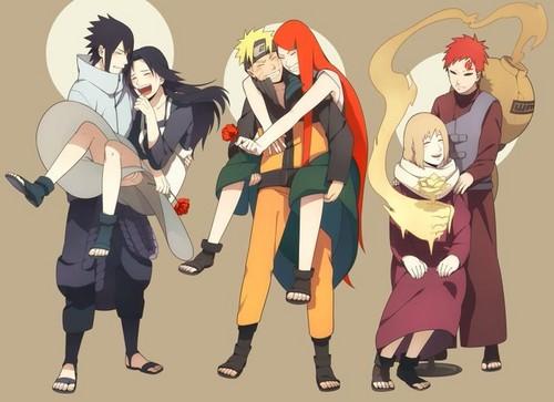 Naruto karatasi la kupamba ukuta possibly with anime titled The Mothers in Naruto