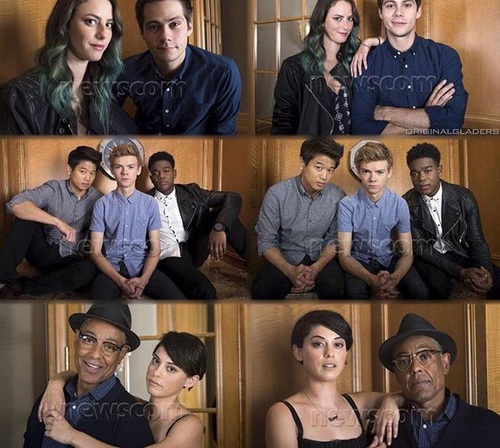 The Maze Runner پیپر وال called The Scorch Trials cast