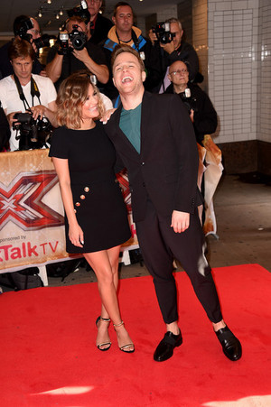 The X Factor press launch