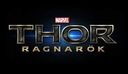 Thor: Ragnarok 壁紙 called Thor: Ragnarok - Logo