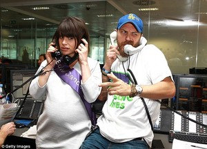 Tom Hardy and his pregnant wife charlotte Riley lent their nyota power to BGC brokers' annual charity