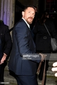 Tom Hardy at Groucho Club after premiere - tom-hardy photo