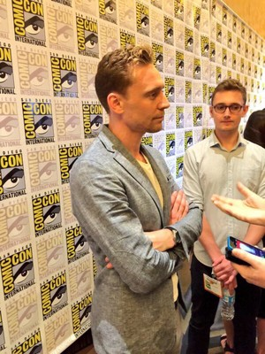 Tom at Comic Con