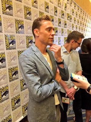 Tom at Comic Con