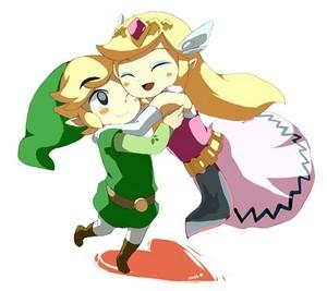 Toon Link X Toon Zelda