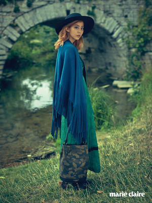 Uee for 'Marie Claire' Magazine September Issue
