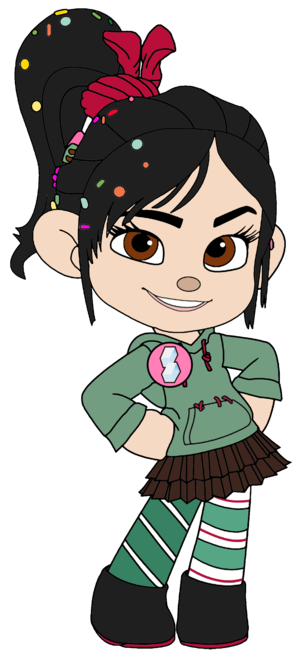 Vanellope von Schweetz with Sugar Rush Badge