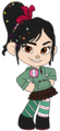 Vanellope von Schweetz with Sugar Rush Badge - disney-junior fan art