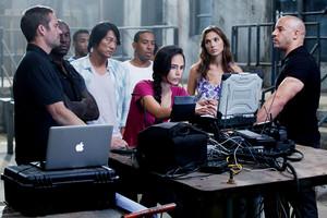 Vin Diesel as Dom Toretto in Fast Five