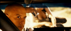 Vin Diesel as Dom Toretto in Fast and Furious