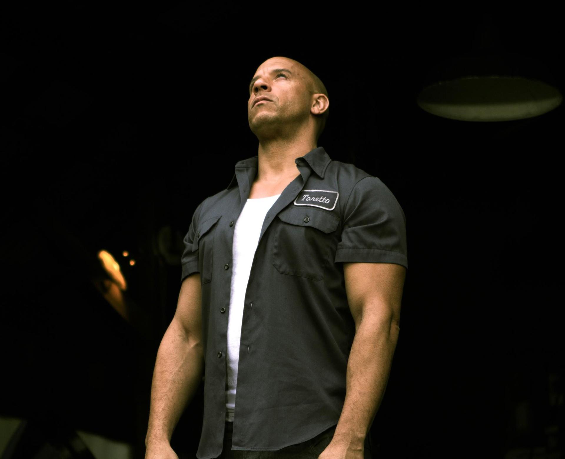 Vin Diesel as Dom Toretto in Furious 7
