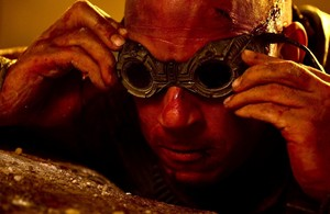 Vin Diesel as Richard B. Riddick in Riddick