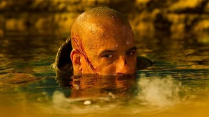Vin Diesel as Richard B. Riddick in Riddick