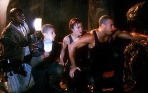 Vin Diesel as Riddick in Pitch Black