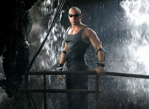 Vin Diesel as Riddick in The Chronicles of Riddick