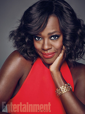 Viola Davis on Shondaland Photoshoot