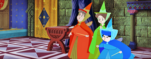 Walt Disney Screencaps - Flora, Fauna & Merryweather