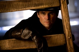 Walton Goggins as Sheriff Chris Mannix in The Hateful Eight