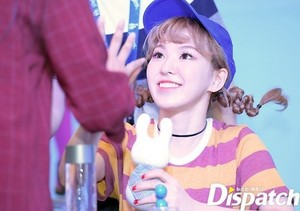 Wendy at the Fanmeeting